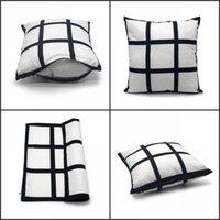 9 패널 베개 케이스 승화 빈 베개 커버 새로운 도착 폴리 에스터 쿠션 뜨거운 전사 인쇄 DIY 좋은 선물 40 * 40cm 100 s2