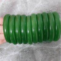 Lot Jewelry 10pcs jade green gemstone Vintage bracelets bangle charm 10pcs red b021