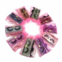 Wholesale 3D Faux Mink Eyelashes Natural Long Fake Eyelash Lashes Luxurious Lashes Pack With Brush And Tweezers Lash Kit Make Up