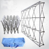 Party Decoration Aluminum Advertisement Signature Showing Flower Stand Wedding Backdrops Po Studio Wall Folding Frame Props