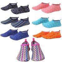 Sports Socks FDBRO Quick-Drying Aqua Shoes Men Woman Beach Outdoor Swimming Slipper On Surf Skin Sock Striped Summer