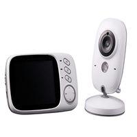 Baby Monitor With Camera Two-way Intercom Walkie Talkie Intelligent Alarm Mobile Monitoring Wireless Monitors