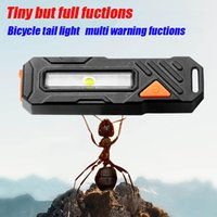 Bike Lights 2 Modes MTB Bicycle USB Charging Taillight COM LED White Light Riding Accessories