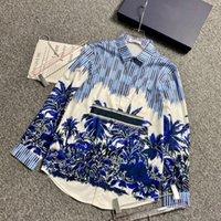 남성 Womnes 디자이너 셔츠 패션 캐주얼 남성 슬림 피트 긴 소매 비즈니스 드레스 셔츠 스트라이프 여성 의류 솔리드 컬러 의류 크리스천