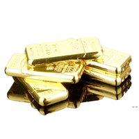 덩어리 모양 담배 라이터 크리 에이 티브 금속 연삭 휠 가스 라이터 가스 가스없는 금색 벽돌 HWF5732