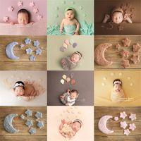 5/7/10 PCs / Set Recém-nascidos Fotografia PROPPS DIY DIY Handmade Bebê Lã sentiu Dinossauro Estrelas Amor Coração Doll Fotografia Fotografia de Estúdio 2240 V2