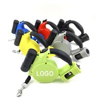 Dog Collars & Leashes Pet Supplies Retractable Leash, Automatic Tractor, Cat Walking Rope Chain