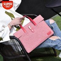 Trendy canvas bag, laptop men's and women's handbags, briefcases #VR8C