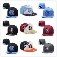 NCAA North Carolina Tar Heels Snapback Hats 23 Michael Caps FSU فلوريدا دولة كرة القدم كلية البيسبول القبعات بالجملة مخيط التطريز تسليم سريع