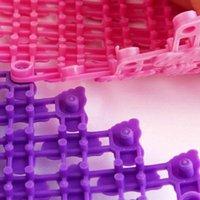 Rutschfeste Mosaikmatte Duschbad Pad PVC-Massage Massive Farbe für Badezimmer-Hausküche XKW-Matten