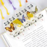 Bookmark mignon classique élégance gland papillon chinois vent chinois collectionnables laisse veine marque-pagettes Papeterie créative