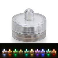 Cadenas Sumergido por batería Floralyte Floralyte impermeable LED luz de acento con interruptor de encendido / apagado para jarrones de vidrio, tanques de pescado, piezas centrales
