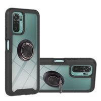 Zeallion For Xiaomi Redmi Note 9S Note 9 Pro 9T K30S Note 10 Pro Full Protection Rubber TPU Protection Phone Cover Ring Holder
