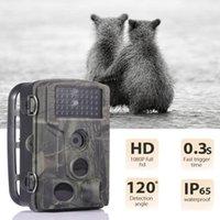 Suntekcam für Jagdpfadkamera 20MP 1080p Nachtsicht Wasserdichte Kameras Po Trap Wireless Wildlife Surveillance HC802A