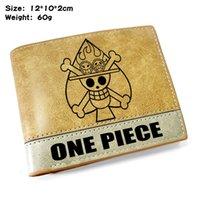 HBP One Piece / Nautical King Motion Courte Portefeuille Pliage Portefeuille en cuir embarqué Hommes Mme Money Piecilleux Ticket Clip