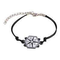 Bangle Bracelet Hanreshe Turtle Rope Charm Ladybug Bracelets Boy Girl Wristband Cat Nior Classic Anime Kids Jewelry