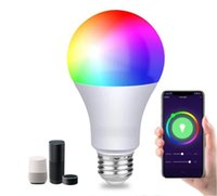 LED bulb Voice control bulbs Alexa voices controls B22 WiFi home graffiti smart color dimming lamp