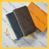 سيدة محفظة سستة المرأة مصممي مصممي أكياس 2021 محافظ حامل بطاقة جلدية جيب طويل عملة المحافظ 20123105W