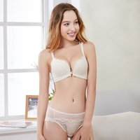 Bra Sets New spring breasted women's gathered up comfortable without steel ring suit thick cup adjustable PDSD