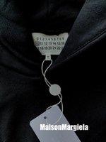 Mens WomensOnsOnsies Maison Hole Hollow Digital Digital Felpa con cappuccio in cotone Allentato a maniche lunghe pullover casual