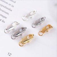 Fermoir au homard en alliage de zinc bracelet bracelet de bracelet de bricolage de Spring Boucle à boucle DALXK001 Hooks Mix Commande