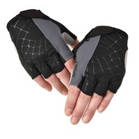 Riding sports gloves men's Half Finger fitness outdoor tactical training equipment dumbbell anti-skid bicycle open finger