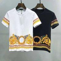 202S Letter print T shirt Men Women Black white Summer Fashion Casual Street T-shirt off Designer graffiti stripes Whites T-Shirts