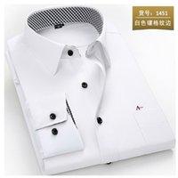 reserva aramy men shirt Long Sleeve Men Dress Shirt Fashion Male Business Formal Wear Office Working Shirts white shirt 210730