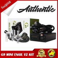 G9 Mini Enail V2 DIY Electronic Portable Dnail Kit Wax Vaporizer Control Heater Dabber Box Dab Tool