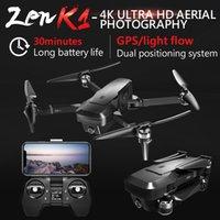 ZEN K1 5G WiFi FPV Drone RC con Dual GPS 4KCamera 120 Flusso ottico pieghevole grandangolare Quadcopter VS SG906 M69 F11 Smart Drone