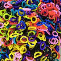 Anel de Cabelo Plástico Linha de Telefone Pulseira Chaveiro Braceletes Titulares Círculo Círculo Elástico Borracha Corda Telefone Cabeça Corda G38ayaa