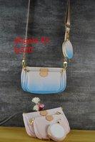 Pochette Top Set 3 PCS Handbags Designer Ombro Poeira Favorito Multi 1 Acessórios Crossbody Purse Messenger Quality Women Ly320 com IFOH