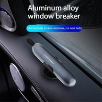 Car Organizer 1Pc 2-in-1 Safety Hammer Window Glass Breaker Seat Belt Cutter Life-Saving Escape Emergency Tool Interior Accessories