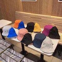 مصمم دلو قبعة رجالي كاب سينجي بريم القبعات للجنسين رسائل شاطئ الصياد قبعات مع أربعة موسم الأزياء بارد تنفس جودة عالية 6 اللون
