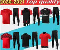 Top-Qualität Milan Polo Shirt Training Anzug Fussball Jersey. Rotes Sweatshirt Kit 20/21 Kurzarm Fußball Sport Größe S-2XL