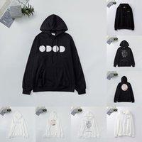 남성 Womens Hoodies 패션 남자 후드 힙합 커플 디자이너 까마귀 느슨한 맞는 여성 풀오버 럭셔리 의류 Sudadera Sweatshirts DR2022