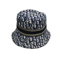Вышивка дизайн ведра шапки вскользь женские кепки формальные шапки большие топ моды роскошь вечернее вечер шляпу солнцезащитные очки туфли аксессуары casquette высокое качество