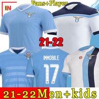 21 22 Lazio Soccer Jersey 2021 2022 Lazio Football Complet Luis Alberto J.Correa Camiseta de Fútbol Income Sergej Maillot De Foot Offe