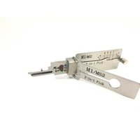 Oirignal LISHI Tools M1 MS2 M1 MS2 2 in 1 2-IN-1 For House Key Door Decoder and Lock Pick Tool Locksmith China Supplier