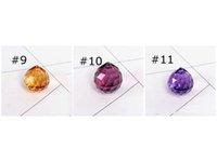 30 ملليمتر الملونة الكريستال الكرة prism suncatcher كريستال قوس قزح المعلقات صانع شنقا بلورات المنشورات ل windows للهدايا rrd7061