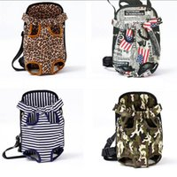 Carrier For Dogs Pet Dog Backpack Camouflage Shoulder Handle Bags Small Cats Mesh Outdoor Travel Car Seat Covers
