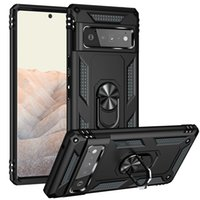 compatible Google Pixel 6 Pro Cover Heavy Duty Rugged Cover Ring Bracket Magnetic Holder Shockproof cases Kickstand for Google Pixel 6 Case