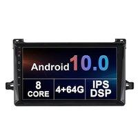 자동차 DVD 스테레오 헤드 유닛 GPS 오디오 라디오 플레이어 Toyota Prius-2016 + 9 ''안드로이드 10.0 터치 스크린 지원 스티어 휠 제어