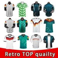 1990 1992 1994 Allemagne Rétro Littbarski Ballack Soccer Jersey Football Home Chemise 1998 1988 Kalkbrenner Klinsmann Matthias Jersey 1996 2004