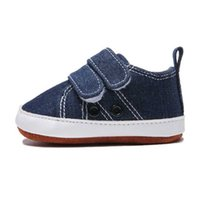 Boys Newborn Baby 0-18M Shoes Toddler Fashion Canvas Shoes Sneakers Baby Boy Soft Sole Crib Shoes
