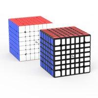 최신 YJ MGC 7x7 매직 큐브 마그네틱 7x7x7 Cubo Magico 자석 네오 큐브 퍼즐 속도 큐브 교육 완구 아이들을위한