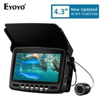 Eyoyo EF43A 20M Fish Finder 4.3 1000TVL Underwater Ice Carp Fishing Camera for Winter Sea Fishing Tackle Accessories Pescaa
