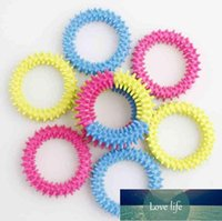 Fidget Toys Spiky Sensory Ring decompression chain 3 color Barbed bracelet Stress Anxiety Relief Squeeze Stretch Finger Game dff1860
