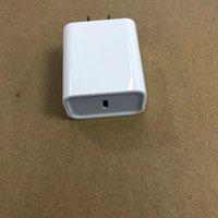 OEM Kalite 18 W / 20 ABD AB PD Şarj USB-C Hızlı Şarj Güç Adaptörü I11 11 Pro Max Perakende Kutusu ile