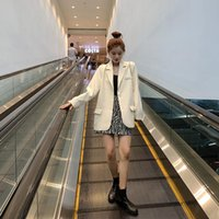 Women's Suits & Blazers Spring Autumn Plus Size Womens Blazer Korean Fashion Long Sleeve Office Suit Jackets Elegant Ladies Coat Casual Loos